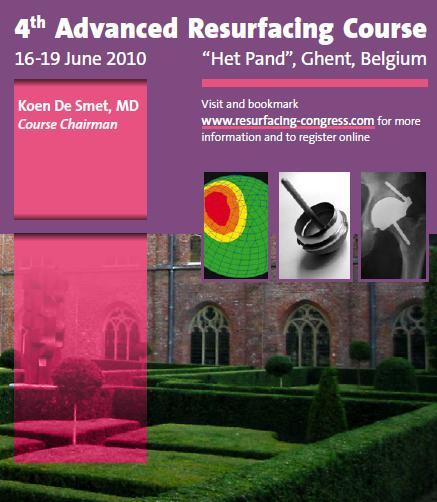 4th Advanced Resurfacing Course, Het Pand, Ghent, Belgium